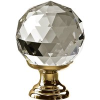 Swarovski Crystal Cupboard Knob 30mm