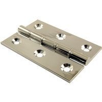 Chrome Hinge Phosphor Bronze Washered 3x2in (76x51x3mm)