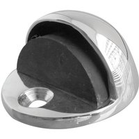 Polished Chrome Oval Shaped Door Stop