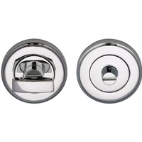 Heritage V4040 Chrome Concealed Thumbturn and Release 50mm