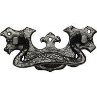 Kirkpatrick 834 Black Antique Style Drawer Pull Handle 127mm