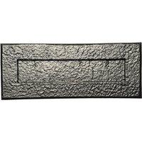 Black Antique Ironwork Letter Box 265x105mm 1083
