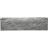 Kirkpatrick Pewter Range Interior Door Plate 295 x 80mm 1102