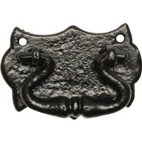 Black Antique Ironwork Drawer Handle 75x50mm 1541