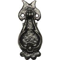 Black Antique Ironwork Fancy Bedroom Door Knocker 2628