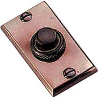 Solid Bronze Door Bell 60 x 30mm