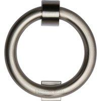 Heritage K1270 Satin Nickel Ring Front Door Knocker 107mm