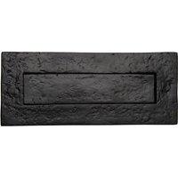 Tudor TC365 Cast Iron Front Door Letterbox 347x96mm