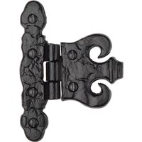 Tudor TC425 Cast Iron Coronet Hinge 82mm In Pairs