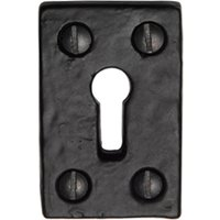 Tudor TC544 Cast Iron Key Escutcheon 49x31mm