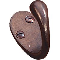 Traditionally Cast Bronze Coat Hook 50mm