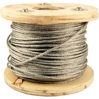 Wire Rope Zinc Plated 3mm in Metres