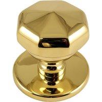PVD Brass Victorian Front Door Knob 64mm