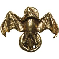 Antique Cast Brass Range Bat Design Bedroom Door Knocker 2621