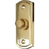 Brass Door Bell 81x31mm