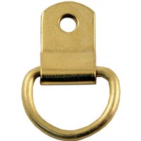 Picture Hanging D Ring Brassed 25mm