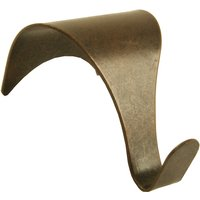 Picture Rail Hook Bronzed Pack of 2
