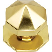 Solid Brass Carousel Front Door Knob 67mm