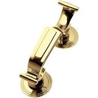 Solid Brass Doctor Knocker 203x64mm