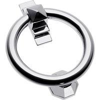 Bright Chrome Ring Knocker 105mm