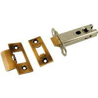 Brass Antiqued Finish Heavy Duty Tubular Latch 102mm