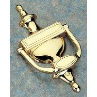 Brass Unlacquered Traditional Door Knocker 190mm