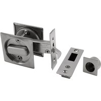 Bathroom Sliding Door Lock Square Plate