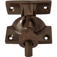 Dark Bronze Brighton Window Fastener 55mm