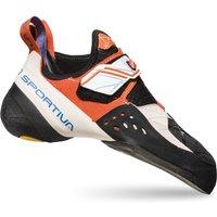 la sportiva La Sportiva Solution Damen Kletterschuhe white/lily orange,weiß-orange