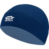 P.A.C Merino Hat Mütze dunkelblau Gr. XS