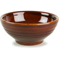 Churchill Bit on the Side Ripple Snack Bowl Cinnamon 6oz / 170ml (Case of 12) - Cinnamon Gifts