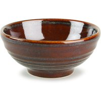 Churchill Bit on the Side Ripple Snack Bowl Cinnamon 10oz / 280ml (Case of 12) - Cinnamon Gifts