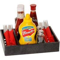 Multi Purpose Condiment Server Charcoal (Case of 12)