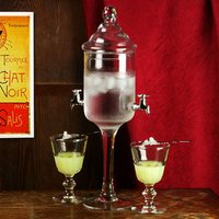 Glass Absinthe Fountain (Case of 4) - Absinthe Gifts