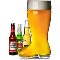Giant Glass Beer Boot 5 Pint / 3ltr (Case of 4)