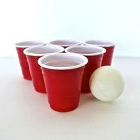 Mini Red Party Shot Cups 2oz / 60ml (Case of 1000) - Cups Gifts