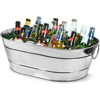 Galvanised Steel Oval Party Tub Large (Single)