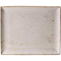 Steelite Craft Rectangular Platter White 33 x 27cm (Pack of 6)