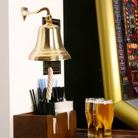 Click to view product details and reviews for Brass Last Orders Bell Large 7inch 180mm.