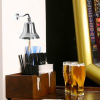 Chrome Last Orders Bell Small 3.5inch / 90mm - Chrome Gifts