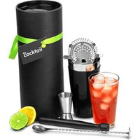Click to view product details and reviews for The Cocktail Store Black Vinylworks Boston Cocktail Shaker Gift Set.