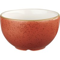 Churchill Stonecast Spiced Orange Sugar Bowl 8oz / 227ml (Set of 12)