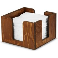 Wooden Cocktail Napkin Caddy (Case of 20)