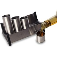 Stainless Steel Shot Rail Set