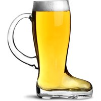 Glass Beer Boot with Handle 1.75 Pint (Single)