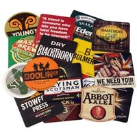 Assorted Traditional Beer Mats (Pack of 50)