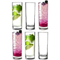 Click to view product details and reviews for Islande Hiball Glasses 127oz 360ml Set Of 6.