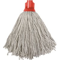 Colour Coded Red Socket Mop Head (Single)