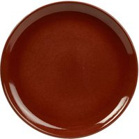 Rustic Coupe Plate Red 24cm (Set of 12)