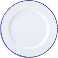 Avebury Blue Rim Plate 10inch / 26cm (Single)
